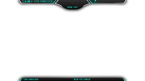 Free Twitch Overlay Template Panix Twitch Overlay Streamlays