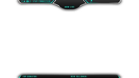free overlay template panix twitch overlay streamlays