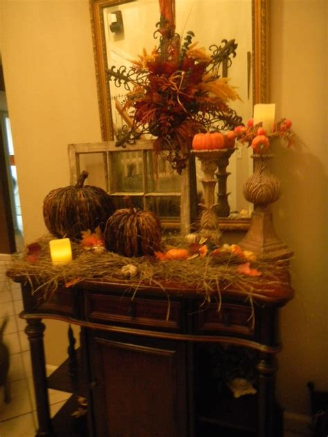 decorate my living room fall autumn thanksgiving decorating dont want hay 6481