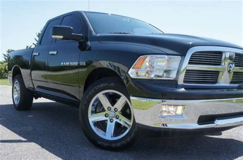 Find Used 2011 Dodge Ram 1500 Crew Big Horn For Sale~black