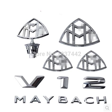 Online Buy Wholesale Maybach Emblem From China Maybach