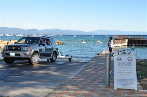 Boat Launch North Lake Tahoe by Tahoe Vista Recreation Area And Boat Launch Lake Tahoe Guide