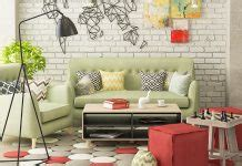 Types of 3 Small Living Room Designs Combined Between