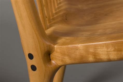 handcrafted contemporary rocking chair  scott morrison