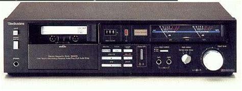Technics Rsm206 Metal Tape Compatible Stereo Cassette Deck