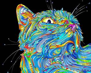 And here s my collection of trippy cat s Album on Imgur