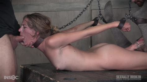 Sexy Slave Girl Mona Wales Gets Her Throat And Mouth Fucked In Hogtied Bdsm Porndoe