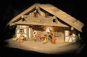 Weihnachtskrippe Holz Selber Bauen : eifell ndische weihnachtskrippe pr m f r krippenfiguren bis 17 cm ~ Buech-reservation.com Haus und Dekorationen