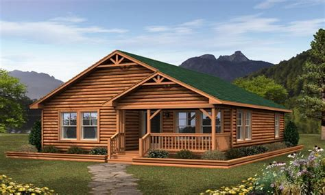 Log Cottage Small Log Cabin Modular Homes Small Modular Cabins And