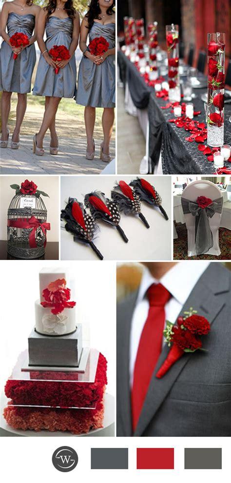 grey wedding color combination ideas for 2017 trends stylish wedd blog