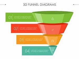 3d Funnel Diagram  Sales  Marketing  Powerpoint