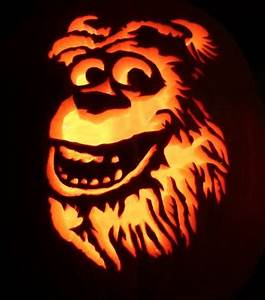 22 best monster inc pictures images on pinterest With sully pumpkin template