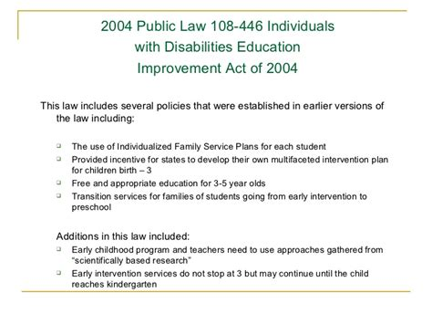 transition from early intervention to preschool early childhood special education 106