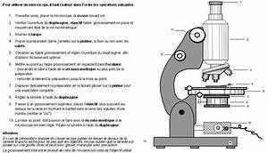 Utilisation D Un Ohmmètre : fiche d 39 utilisation d 39 un microscope optique banque de ~ Premium-room.com Idées de Décoration