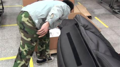 how to assembly bestmassage shiatsu chair bm ec06c