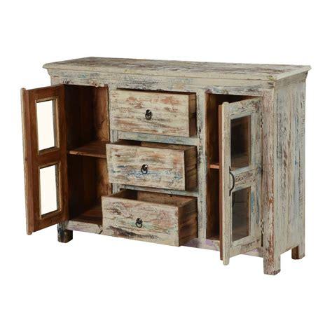 Mango Wood Sideboard by Winter Mango Wood Freestanding 3 Drawer Sideboard