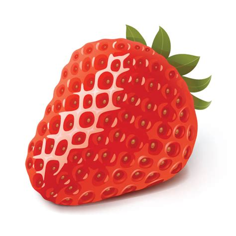 strawberry fresh fruit vector ai svg eps vector