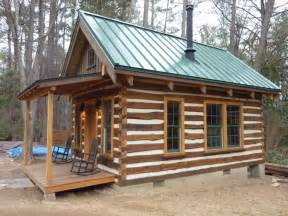 Small Rustic Cabin by Building Rustic Log Cabins Small Log Cabin Plans Building