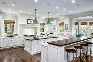 cuisine blanche 36 idees de luxe pour une cuisine design With design de cuisine de luxe