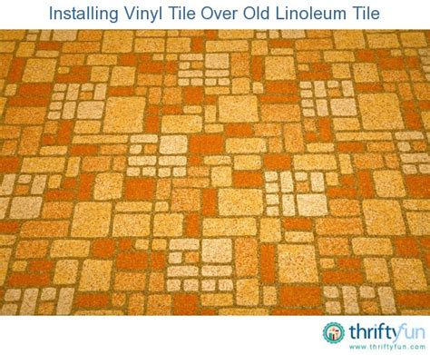Laying Tile Linoleum by Installing Vinyl Tile Linoleum Tile Thriftyfun