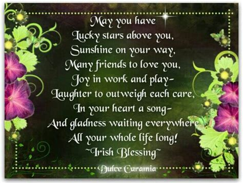 Birthday Wishes Irish Blessing