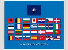 Nato members stock illustration Illustration of atlantic