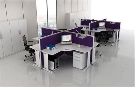 bureau furniture modern in purple modular office furniture presenting two