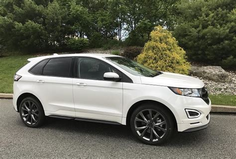 snow car review  ford edge sport awd review