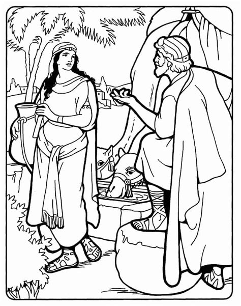Abraham Finds a Wife for Isaac   Isaac and Rebekah ...