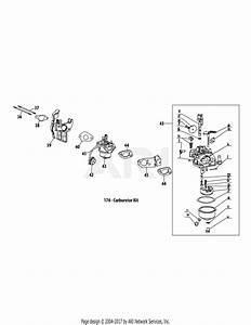 Troy Bilt 31am66q4711 Storm 2840  2015  Parts Diagram For
