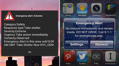 iphone emergency alerts hurricane wireless emergency alerts why only some
