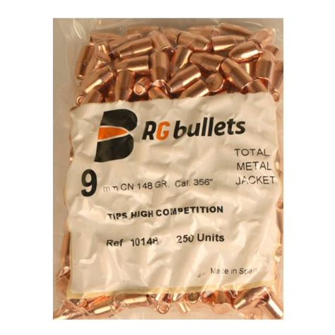 rg mm  tc gr copper plated bullet pk
