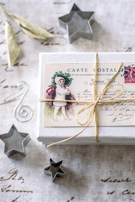 vintage french christmas postcards  printable