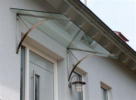 vordach glas edelstahl vordach edelstahl mit glas vord 228 cher 220 berdachungen in