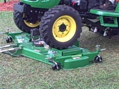 john deere autoconnect mower deck 1 youtube
