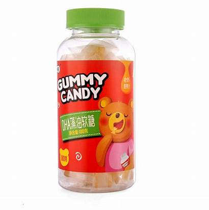 Gummy Gelatin Bears Omega Brian Development Supplement