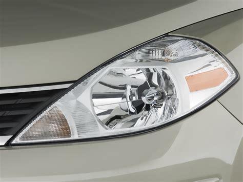 image 2009 nissan versa 4 door sedan auto sl headlight