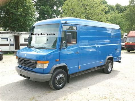 Mercedesbenz 814 D Vario 2004 Boxtype Delivery Van