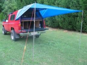 Truck Bed Tarp Camping