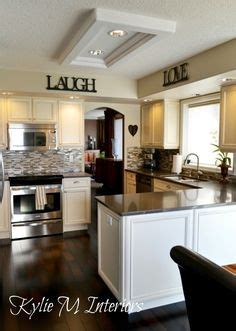 backsplash images for kitchens espresso beans by behr we painted our lightly stained oak 4264