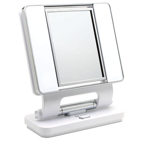 makeup light mirror ottlite lighted makeup mirror white vanity