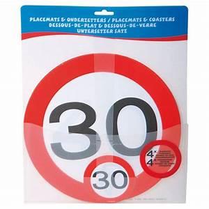 Pappteller 30 Geburtstag : untersetzer set 30 geburtstag verkehrsschild 30 cm 8 tlg g nstig kaufen bei ~ Markanthonyermac.com Haus und Dekorationen
