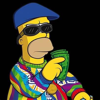 Simpson Homer Simpsons Characters Rap Cool Stars