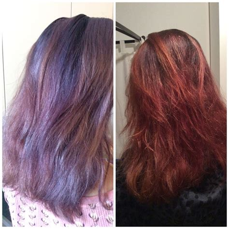 Before And After Lush Henna Marron Love How Healthy The