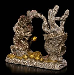 Feng Shui Deutsch : feng shui figur drache mit ph nix ~ Frokenaadalensverden.com Haus und Dekorationen