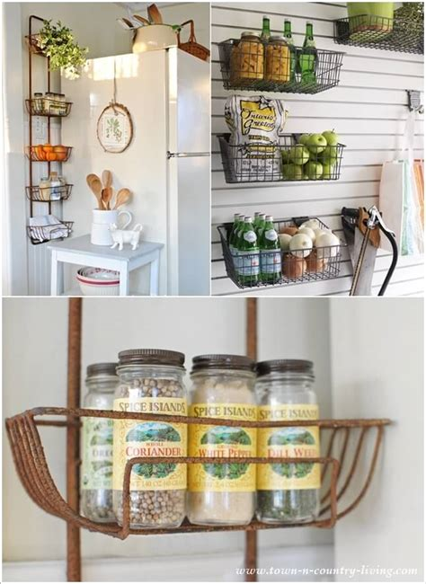 amazing kitchen wall storage solutions