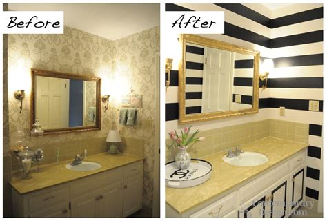 Painting Bathroom Tiles Before And After by Painting Bathroom Tiles