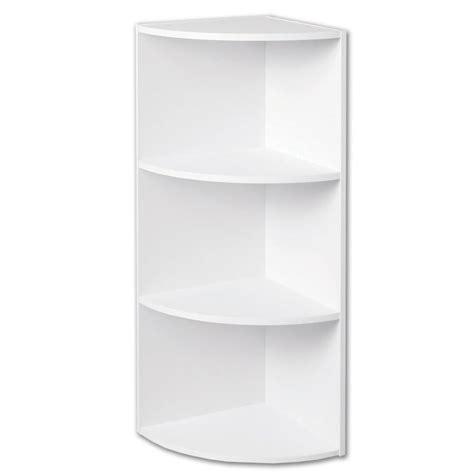 closetmaid 4 shelf 11 5 quot corner laminate stacking storage