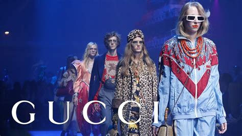 Gucci Spring Summer 2018 Fashion Show Full Video Youtube
