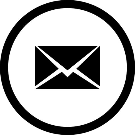 white mail icon vector png mail social media icon icon search engine
